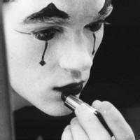 流泪的小丑绝望头像