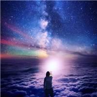 回顾过去的人生经历是非常重要的#背影#夜晚#星空#唯美