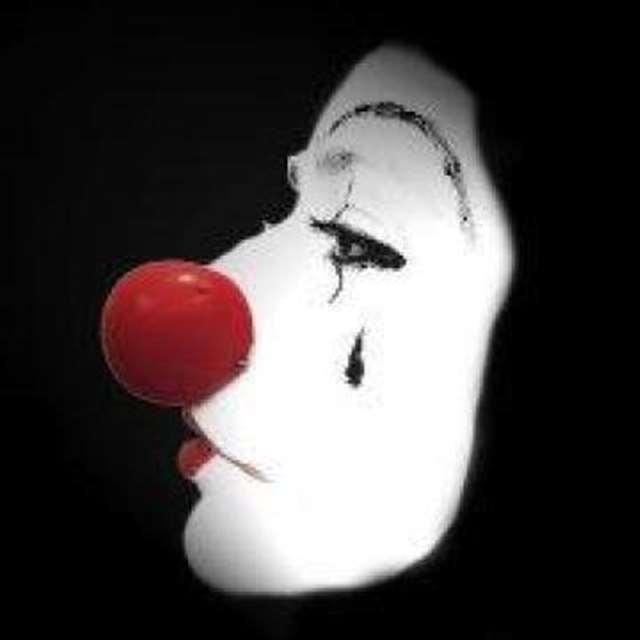 流泪邪恶的小丑绝望微信头像图片大全 甚至成_头像图片